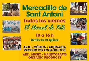 Freitags-Markt in Sant Antoni