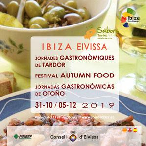 Herbst-Menüs 2019 auf Ibiza - einfach lecker !