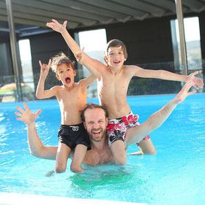 Schwimmbad auf Ibiza
