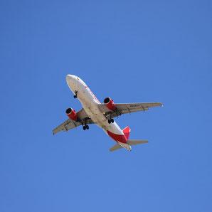 Mit dem Flieger nach Ibiza