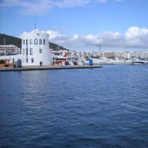 Jachthafen Santa Eulalia auf Ibiza