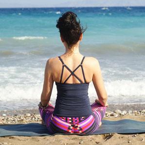 Ibiza Yoga und Meditation am Strand
