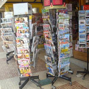 Tageszeitungen, Internationale Presse, Bücher