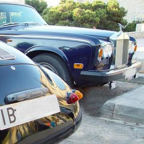 Autofahrschule auf Ibiza