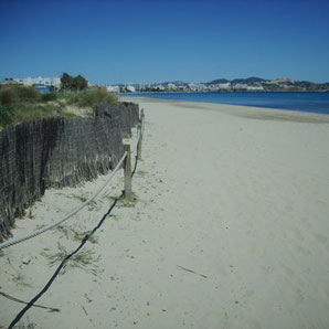 Playa den Bossa im Winter