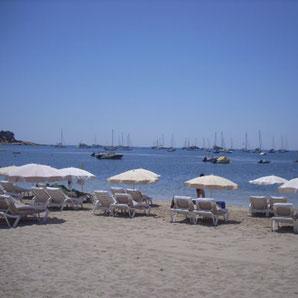 Strandrestaurants in Ibiza Playa Talamanca