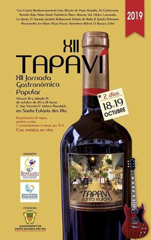 Tapas und Wein in Santa Eulalia TAPVI