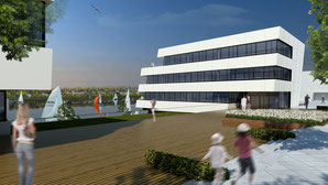 swan drahtler architekten planungsgruppe dortmund phoenix see neubau bürogebäude