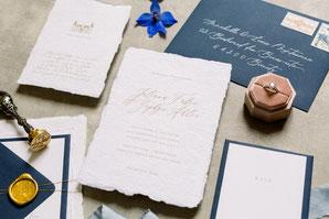 Invitations, menus ... mariage château domaine Belle Epoque landes evenement