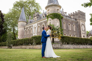 Mariage Pauline et Arthur au Château Belle Epoque, chambres d'hôtes et gîtes à Linxe dans les Landes