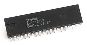 Intel P8088 Side View
