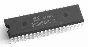 NEC D8085AHC-2 Side View