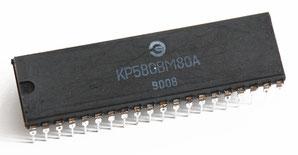 КР580ВМ80А Side View