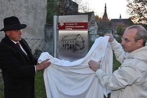 Erinnerung an Synagoge in Bernburg - Klick!