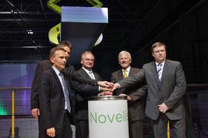 Eröffnung Novelis - Klick!
