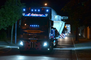Schwerlasttransport Schmelzwerk - Klick!
