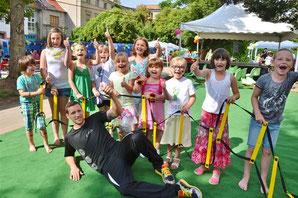 Sommerfest im SOS Beratungszentrum - Klick!