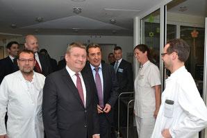 Bundesgesundheitsminister Ameos - Klick!