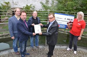Nicolaimarkt Patenschaft für Bärin - Klick!