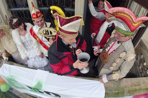 Karneval Rathaussturm Bernburg - Klick