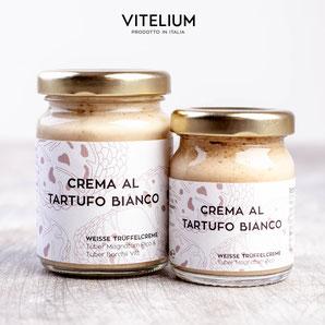 Vitelium Crema al Tartufo Bianco, weisses Trüffelpesto aus Italien