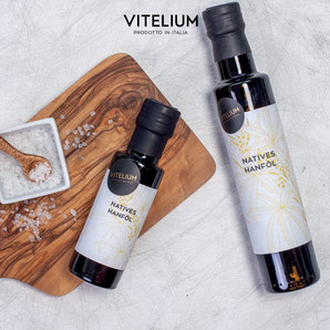 Vitelium Natives Hanföl, kaltgepresst aus Italien