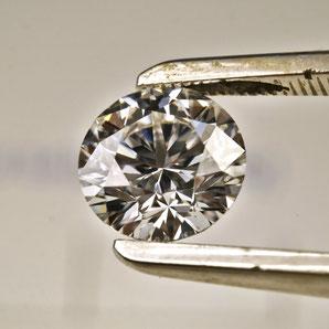 Diamant im Brillant-Schliff