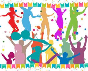 festa graphopack eventi divertimento animazione truccabimbi palloncini balloon compleanno bambini