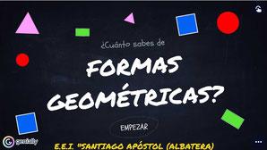 ¿CUÁNTO SABES DE FORMAS GEOMÉTRICAS 1?