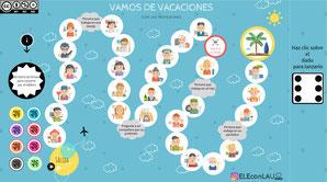 VAMOS DE VACACIONES CON LAS PROFESIONES