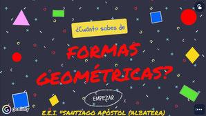 ¿CUÁNTO SABES DE FORMAS GEOMÉTRICAS 2?