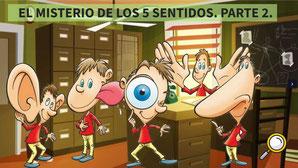 EL MISTERIO DE LOS 5 SENTIDOS - 2