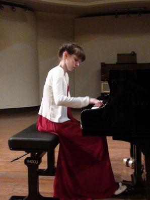 ANNA CATERINA BINDA HONORABLE MENTION AT THE 2020 SERGIO FIORENTINO INTERNATIONAL PIANO COMPETITION!