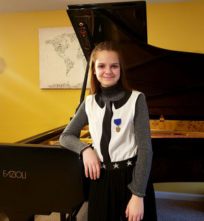 ELISA PLANO 1st PRIZE AT THE ISSMA COMPETITION, INDIANA STATE PIANO FINALS!