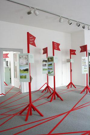 Ausstellungsstelen Museum Langenthal