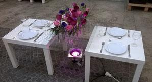Tischdekoration Frühling