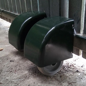 AKIA green wheeled motor drive for swing gate