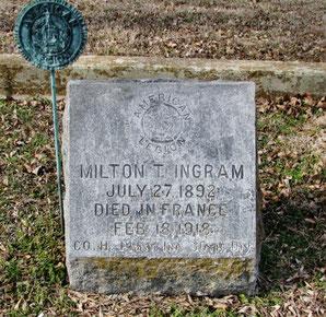 Tombe de Milton -Milton's grave - FindaGrave.com