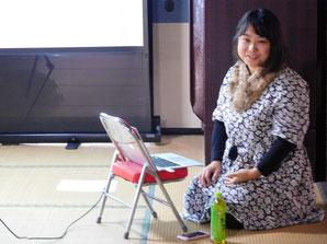 第4回セミナー・ゲストの鎌田千瑛美さん