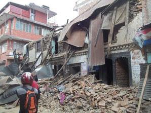 29/4 Kathmandou, maison ancienne...