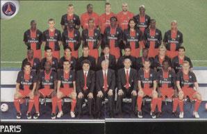 N° 340 et 341 - Equipe PSG
