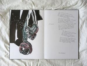 Das müdgeliebte Herz | 2021 | Künstlerbuch