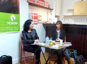 Rencontre à la librairie Brouillon de culture le 8 mars 2017 à Caen