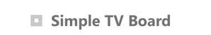 シンプルテレビボードの画像