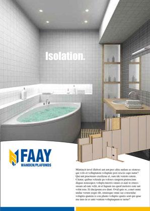 Anzeigenserie FAAY, NL © ES-DESIGN WERBEAGENTUR