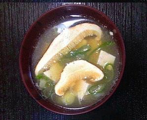 「松茸汁」
