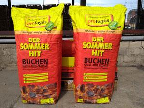 proFagus Buchen-Holzkohle Grillkohle 15 kg