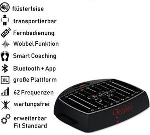 Galileo Vibrationsplatte S 40 Plus, Preis, Vertrieb, Test, Meinungen: www.kaiserpower.com