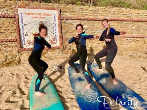 Yoga und Surf Urlaub Südspanien