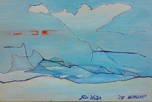 2005 Öl/Leinwand 25x41cm